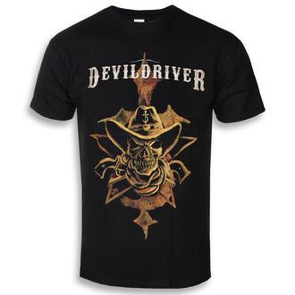 t-shirt metal uomo Devildriver - Cowboy - NAPALM RECORDS, NAPALM RECORDS, Devildriver