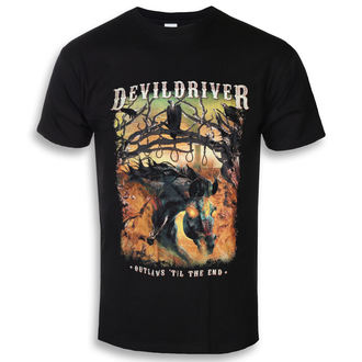 t-shirt metal uomo Devildriver - Outlaws Til The End - NAPALM RECORDS, NAPALM RECORDS, Devildriver