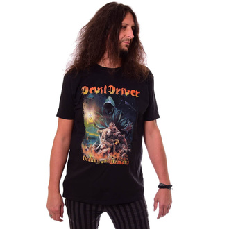 Maglietta da uomo DEVILDRIVER - Dealing With Demons - NAPALM RECORDS, NAPALM RECORDS, Devildriver