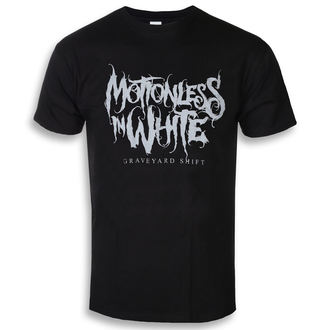 t-shirt metal uomo Motionless in White - Graveyard Logo - ROCK OFF, ROCK OFF, Motionless in White