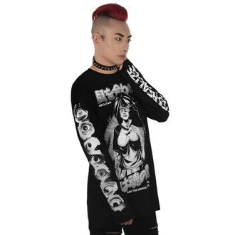 Maglietta unisex a maniche lunghe KILLSTAR - Eye Contact Long Sleeve Top, KILLSTAR