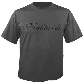 t-shirt metal uomo Nightwish - Logo GREY - NUCLEAR BLAST, NUCLEAR BLAST, Nightwish
