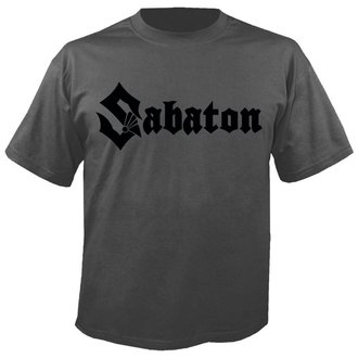 t-shirt metal uomo Sabaton - Logo GREY - NUCLEAR BLAST - 2674_TS