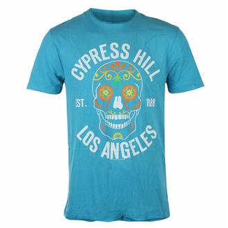 maglietta da uomo CYPRESS HILL - FLOREALE TESCHIO - TEAL PANTHER - AMPLIFIED, AMPLIFIED, Cypress Hill