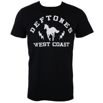 t-shirt metal uomo Deftones - WEST COAST - PLASTIC HEAD, PLASTIC HEAD, Deftones
