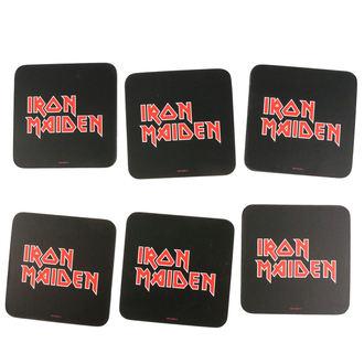 sottobicchieri  IRON MAIDEN, NNM, Iron Maiden