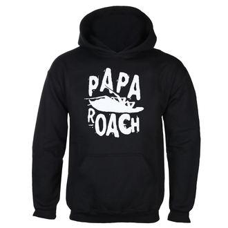 felpa con capuccio uomo Papa Roach - Classic Logo - KINGS ROAD, KINGS ROAD, Papa Roach