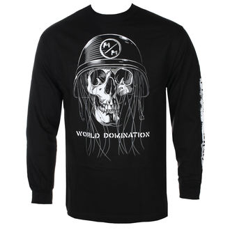 t-shirt street uomo - UNDEAD BLK - METAL MULISHA, METAL MULISHA