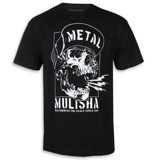 t-shirt street uomo - NO PEACE BLK - METAL MULISHA, METAL MULISHA