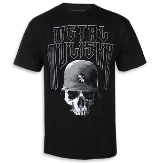 t-shirt street uomo - FORTITUDE BLK - METAL MULISHA, METAL MULISHA