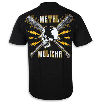 t-shirt street uomo - BLUNT FORCE BLK - METAL MULISHA, METAL MULISHA
