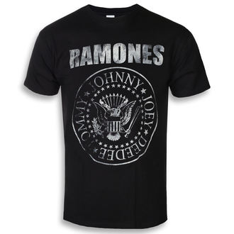 t-shirt metal uomo Ramones - Seal Hey Ho - ROCK OFF, ROCK OFF, Ramones