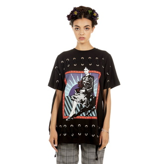 t-shirt hardcore donna - Frida Sunset - DISTURBIA, DISTURBIA