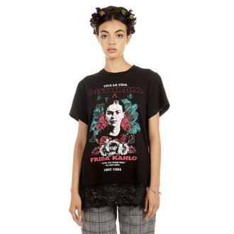 t-shirt hardcore donna - Frida Viva La Vida - DISTURBIA, DISTURBIA