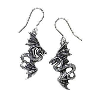 Orecchini ALCHEMY GOTHIC - Flight of Airus - Peltro, ALCHEMY GOTHIC