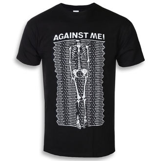 t-shirt metal uomo Against Me! - Provision - KINGS ROAD, KINGS ROAD, Against Me!