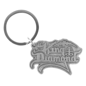 Portachiavi ad anello (pendente) King Diamond - Logo - RAZAMATAZ, RAZAMATAZ, King Diamond