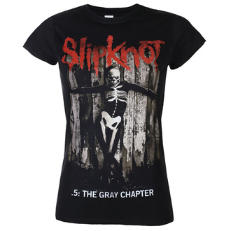 Maglietta da donna Slipknot - The Gray - Chapter Album - ROCK OFF, ROCK OFF, Slipknot