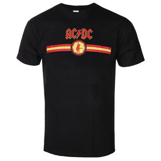 Maglietta da uomo AC / DC - Logo & Stripe - BL - ROCK OFF, ROCK OFF, AC-DC