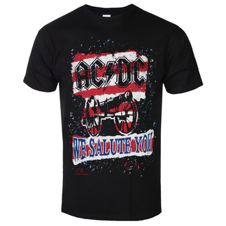 Maglietta da uomo AC / DC - We Salute You Stripe - BL, ROCK OFF, AC-DC