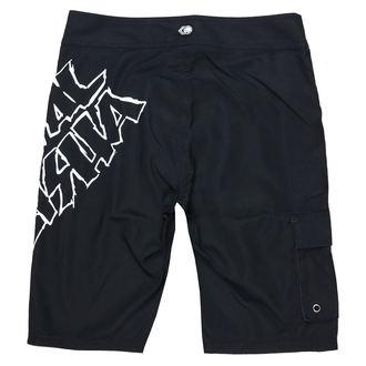 Pantaloncini da bagno METAL MULISHA - IKON - BLK, METAL MULISHA