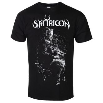 Maglietta da uomo SATYRICON - Fanden - NERO, NNM, Satyricon