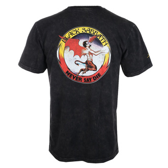 Maglietta da uomo Lakai x Black Sabbath - Never Say Die - grigio canna di fucile, Lakai x Black Sabbath, Black Sabbath