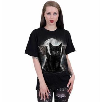 Maglietta unisex SPIRAL - BAT CAT - Nero - 114F015M121