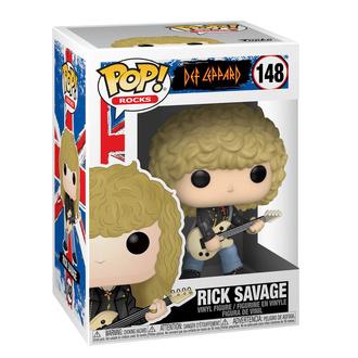 figura Def Leppard - POP! - Rick Savage, POP, Def Leppard
