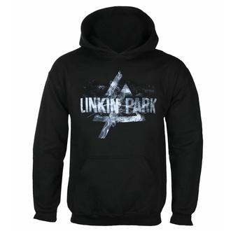 Felpa con cappuccio da uomo LINKIN PARK - SMOKE LOGO - PLASTIC HEAD, PLASTIC HEAD, Linkin Park
