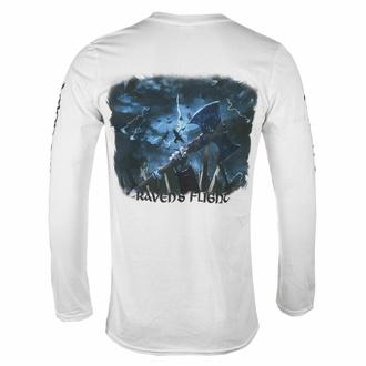 Maglietta da uomo a maniche lunghe AMON AMARTH - RAVEN'S FLIGHT - BIANCA - PLASTIC HEAD, PLASTIC HEAD, Amon Amarth