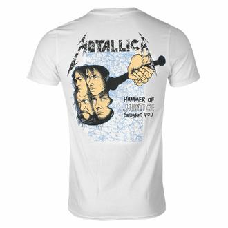 Maglietta da uomo METALLICA - AND JUSTICE FOR ALL - BIANCA - PLASTIC HEAD, PLASTIC HEAD, Metallica