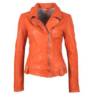 Giacca da donna modello motociclista GGFavour LAMAXV arancia, NNM