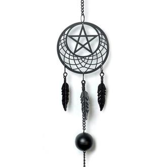 Pendente (decorazione) ALCHEMY GOTHIC - Pentagram Dream Catcher, ALCHEMY GOTHIC