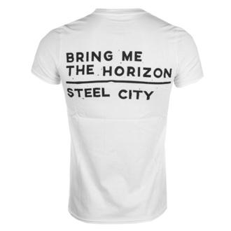 t-shirt metal uomo Bring Me The Horizon - Distorted - ROCK OFF - BMTHTS27MW