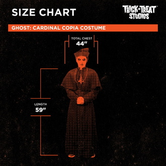 Costume Ghost - Cardinal Copia, Ghost