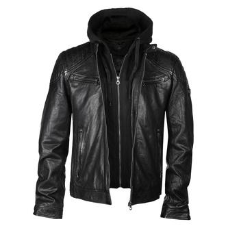 Giacca da uomo (modello motocilista) GBGorey 2 LASANV - Black, NNM