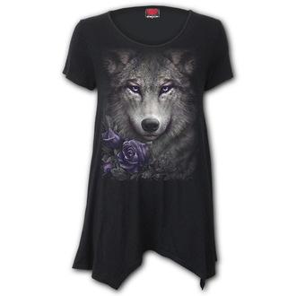t-shirt donna - WOLF ROSES - SPIRAL, SPIRAL