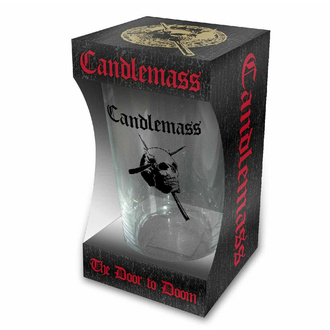 bicchiere CANDLEMASS - THE DOOR TO DOOM - RAZAMATAZ, RAZAMATAZ, Candlemass