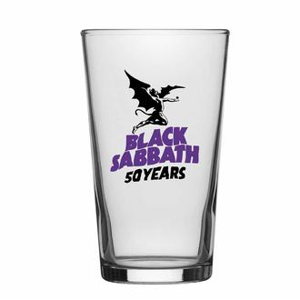 Bicchiere BLACK SABBATH - 50 ANNI, RAZAMATAZ, Black Sabbath