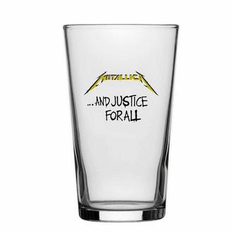 Bicchiere METALLICA - AND JUSTICE FOR ALL - RAZAMATAZ, RAZAMATAZ, Metallica