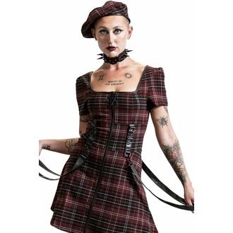 Abito da donna KILLSTAR - Grave Rebellion - BLOOD TARTAN, KILLSTAR