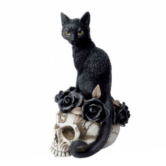 Decorazione ALCHEMY GOTHIC - Black Cat & Skull, ALCHEMY GOTHIC