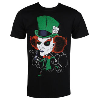 t-shirt hardcore uomo - MAD HATTER - GRIMM DESIGNS, GRIMM DESIGNS