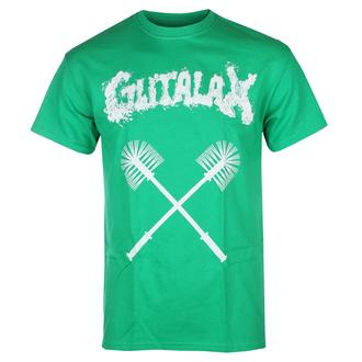 Maglietta da uomo GUTALAX - toilet brushes - verde - ROTTEN ROLL REX, ROTTEN ROLL REX, Gutalax