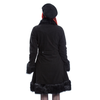 Cappotto da donna POIZEN INDUSTRIES - HARRIET - NERO, POIZEN INDUSTRIES