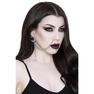 Orecchino KILLSTAR - Hazelle Nose Chain, KILLSTAR