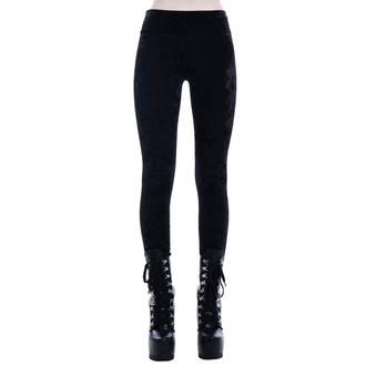 Pantaloni (leggings) KILLSTAR - Hematite, KILLSTAR