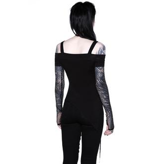 Maglietta da donna a maniche lunghe KILLSTAR - Hole Heartedly Bardot Top, KILLSTAR