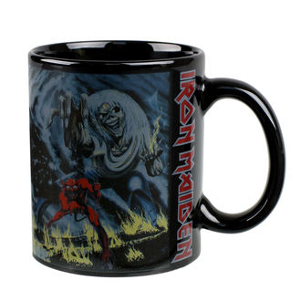 tazza  IRON MAIDEN - ROCK OFF, ROCK OFF, Iron Maiden